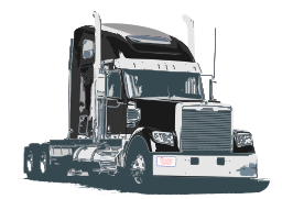 7 Semi Truck Icon Images