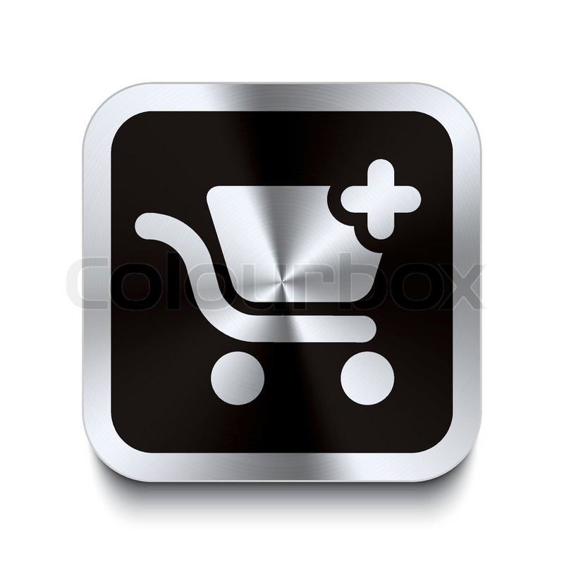 Shopping Cart Icon Black