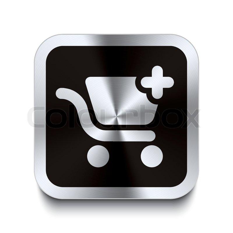Shopping Cart Icon Black