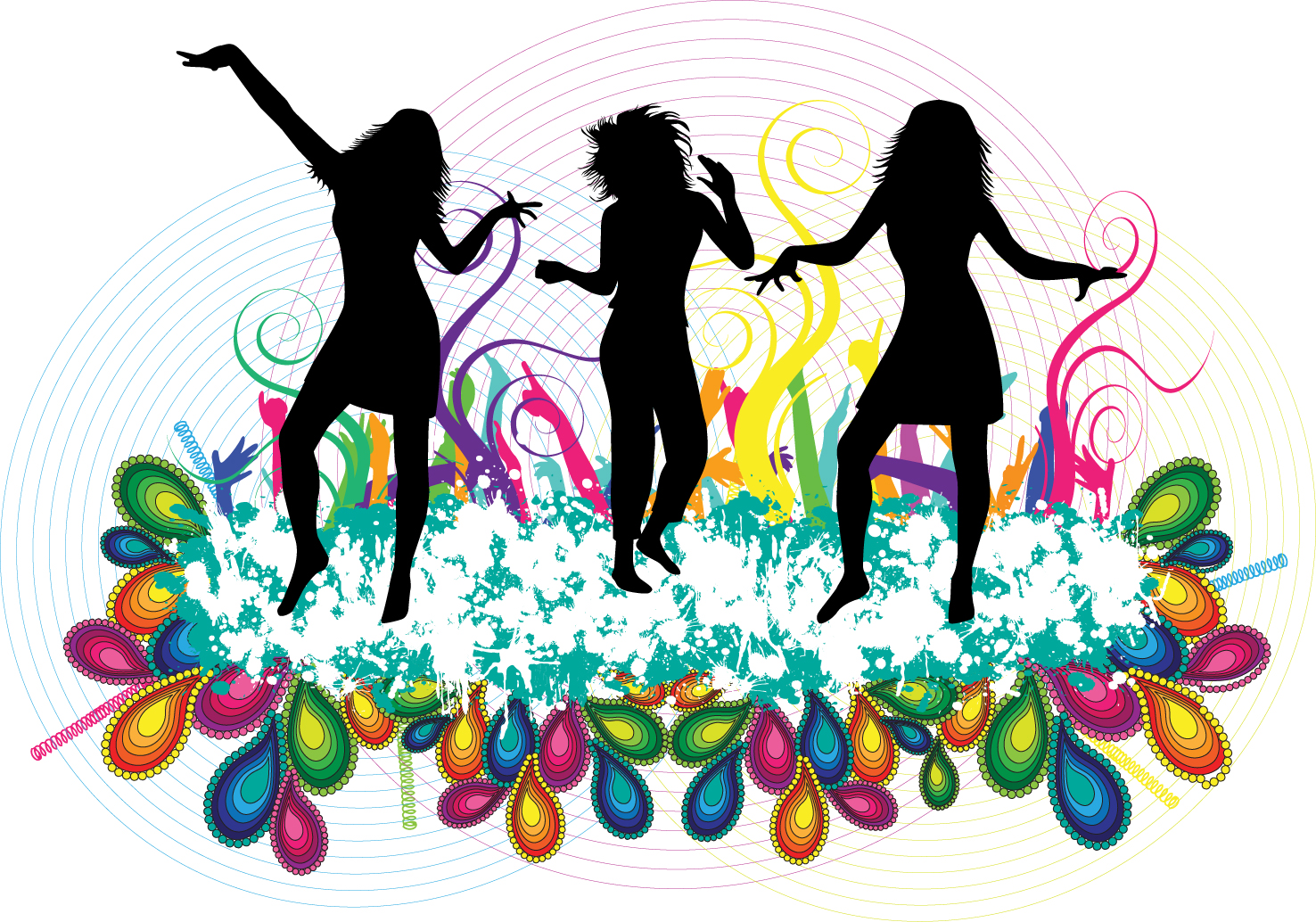 14 Party People Vector PNG Images - Party People Vector ...