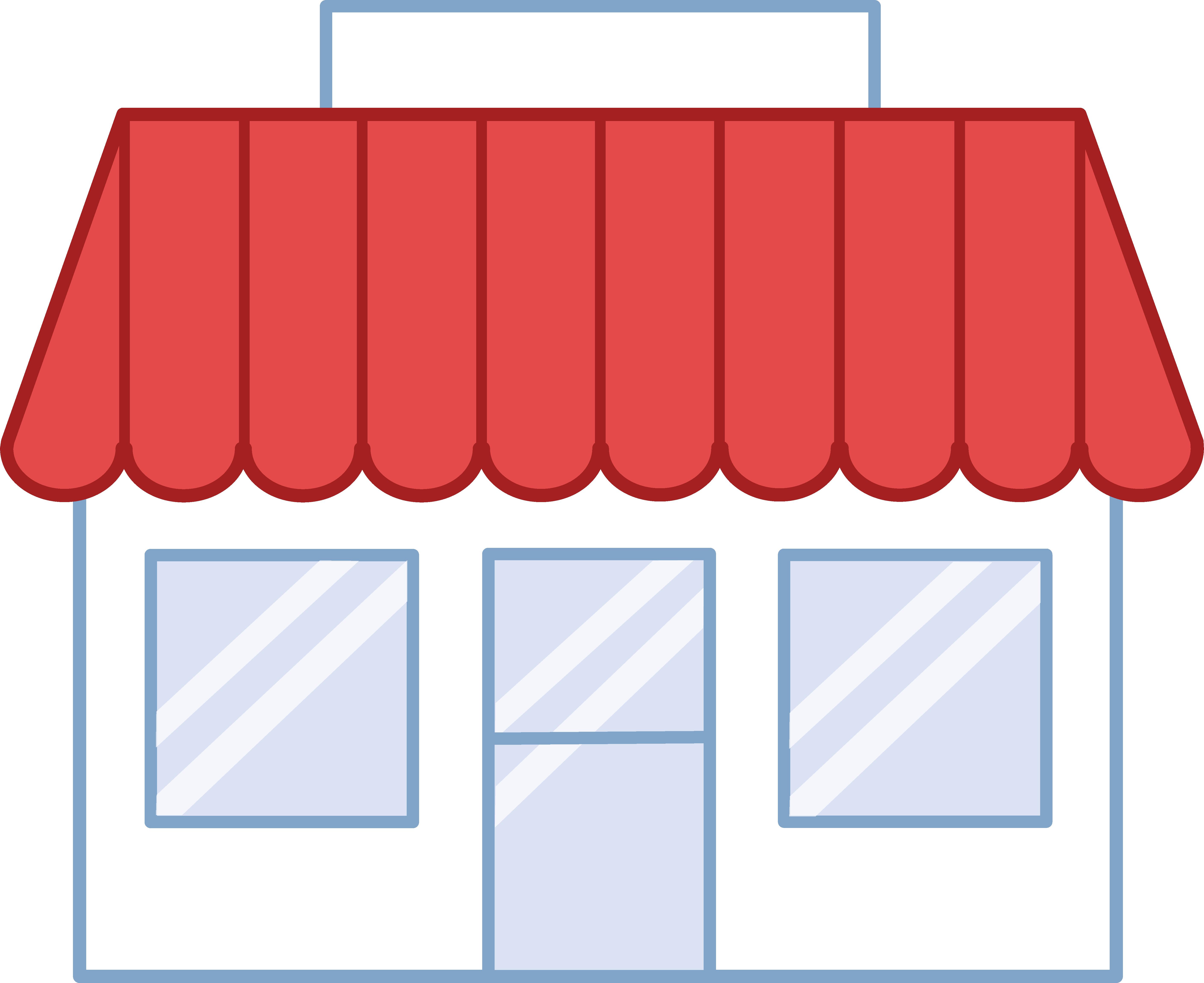 Store Building Clip Art