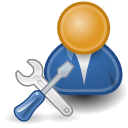 System Admin Icon