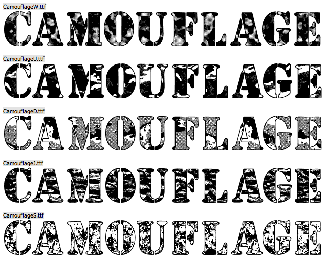 5 Camouflage Font Generator Images - Camouflage Text Generator