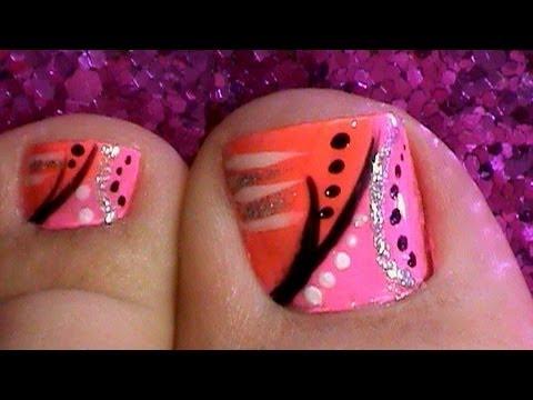 Toe Nail Art Designs Tutorial