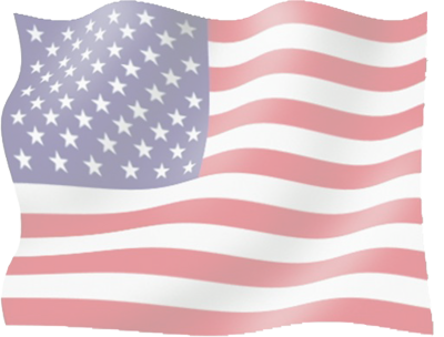 7 American Flag PSD Images