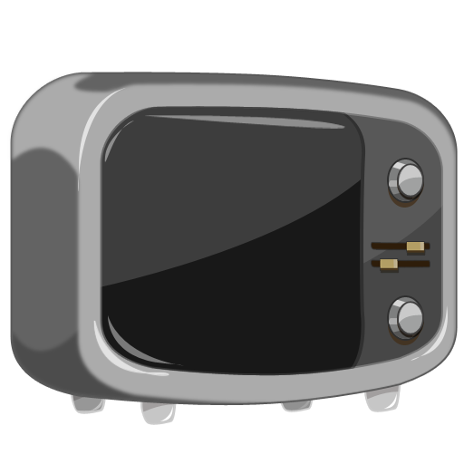 TV Cartoon Icon