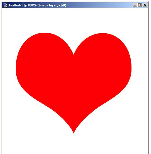 Valentine Heart Shapes