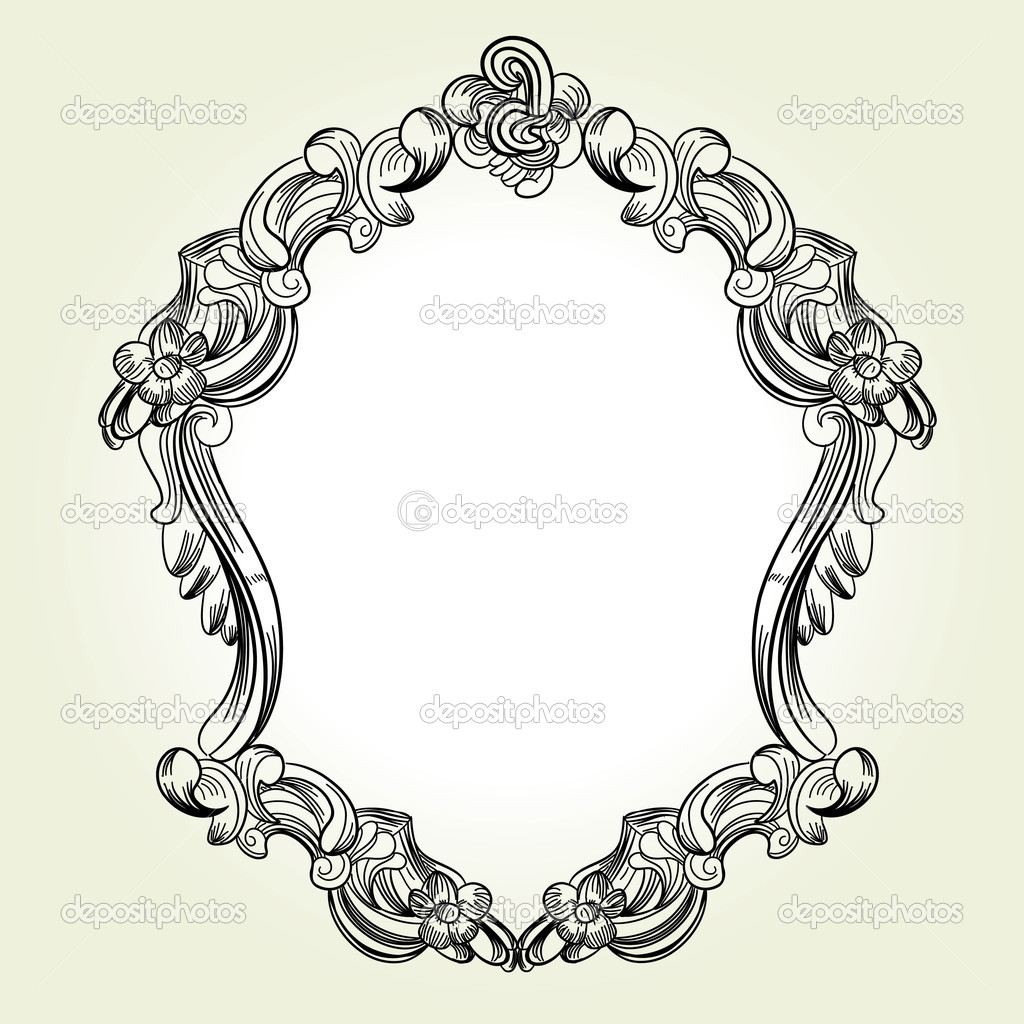 Victorian Frame Drawing