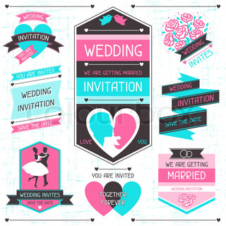 Wedding Invitation Design Element