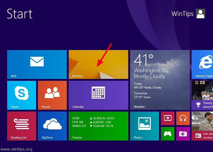 13 Windows 8.1 Desktop Icons Images