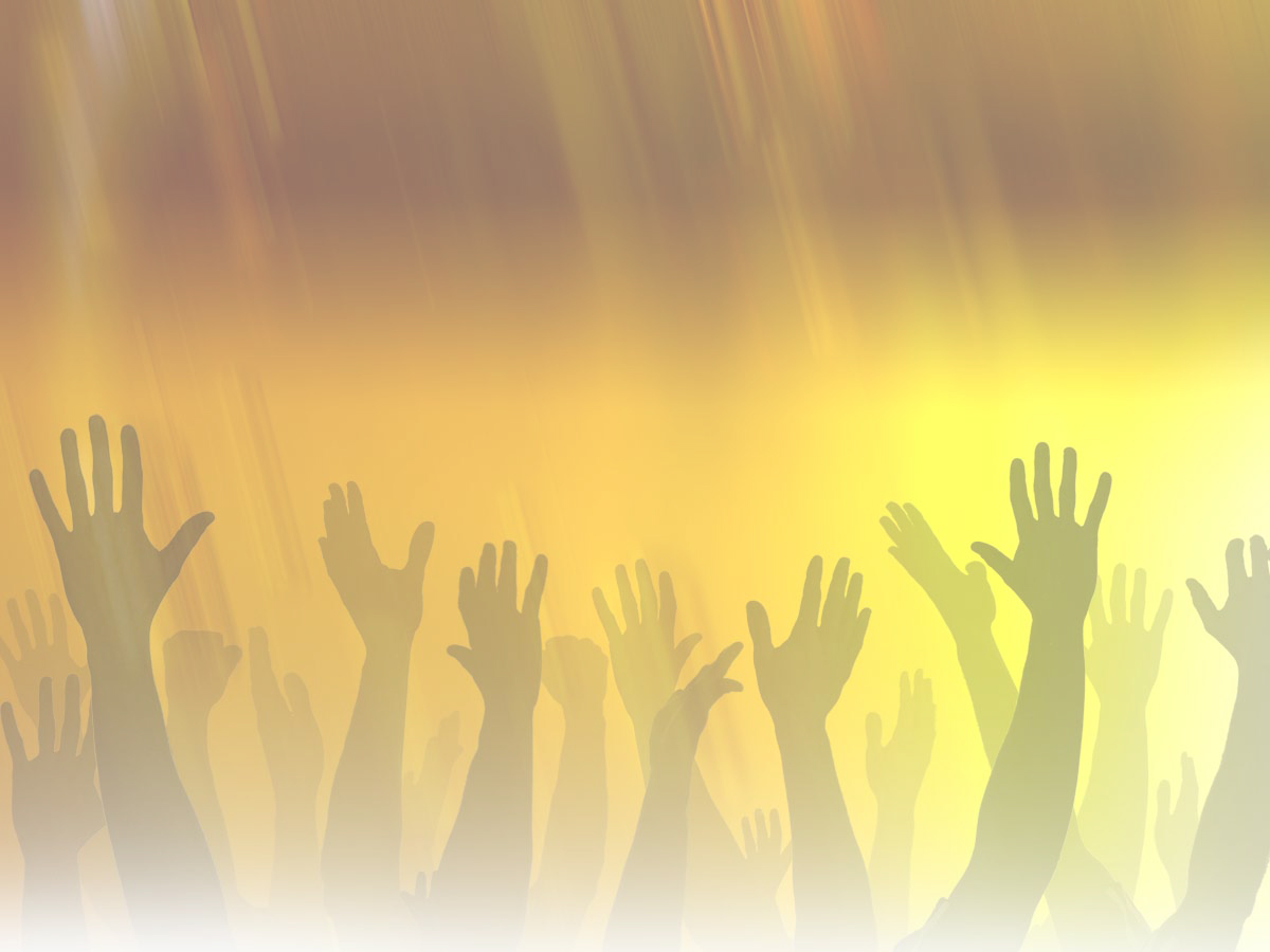 Worship Hands Backgrounds PowerPoint