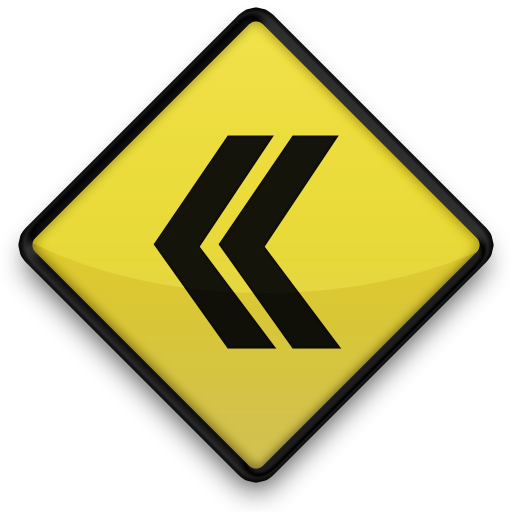 6 yellow left arrows icons images yellow arrow pointing left