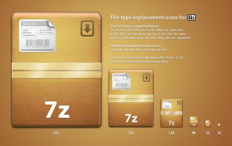 16 7-Zip File Icons Images - Zip File Icon Windows 8, 7-Zip