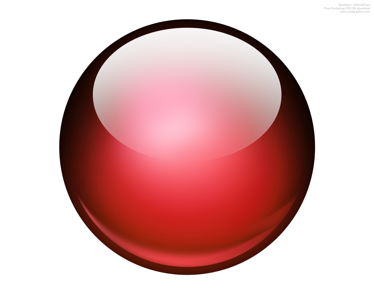 8 Red Ball Icon Images