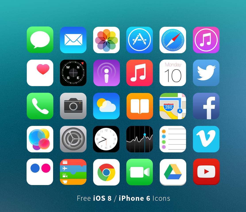 Как сделать иконки прозрачные на айфон