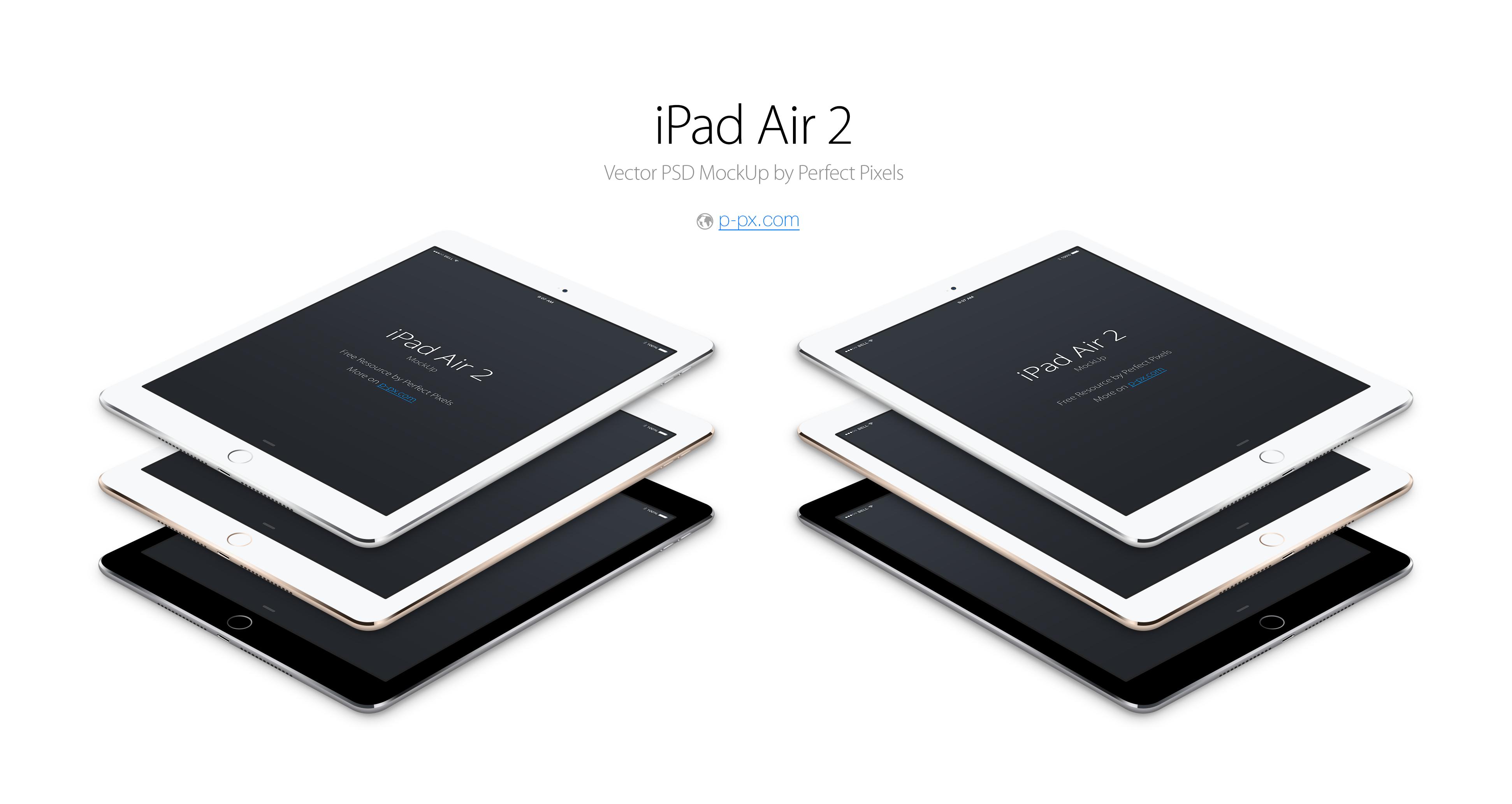 Air iPad 2 Mockup