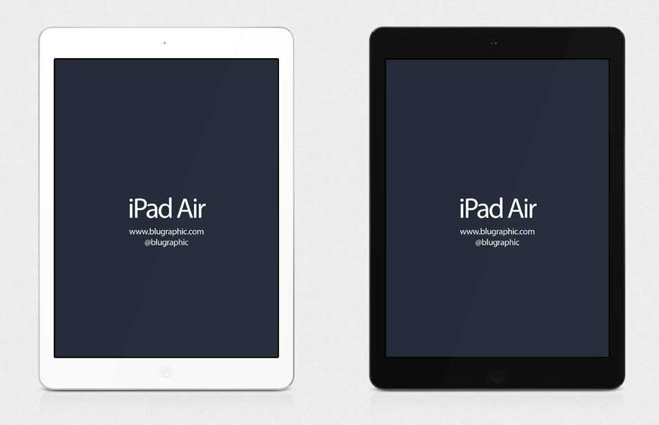 Air iPad Mockup