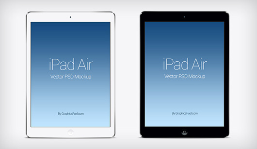 Air iPad PSD Mockup