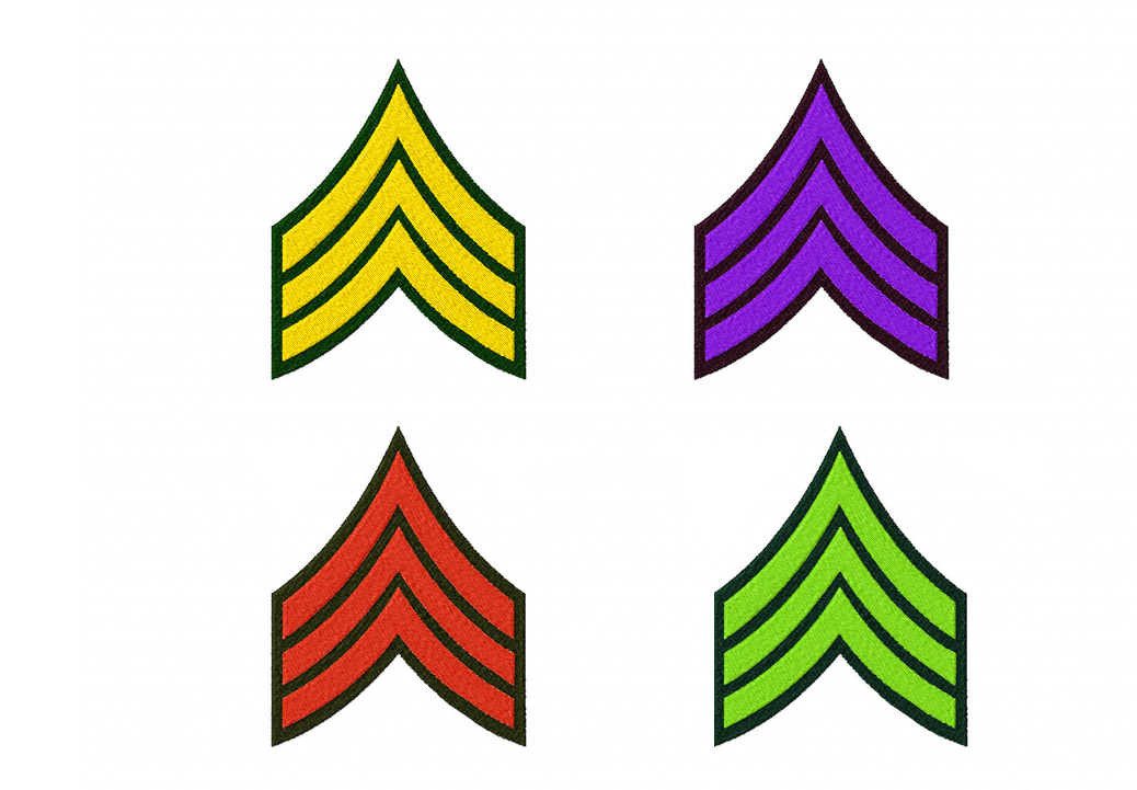 Army Machine Embroidery Designs