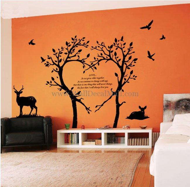 15 Wall Appliques Graphics & Murals Images