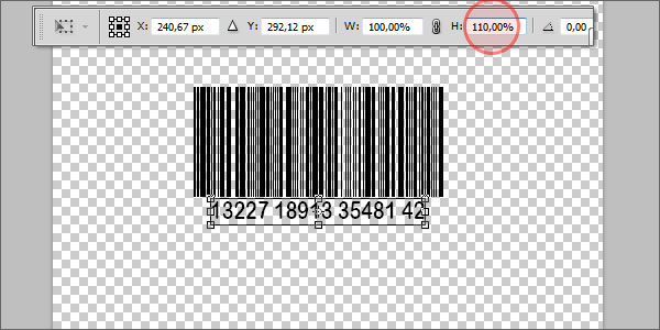 Barcode Tutorial Photoshop