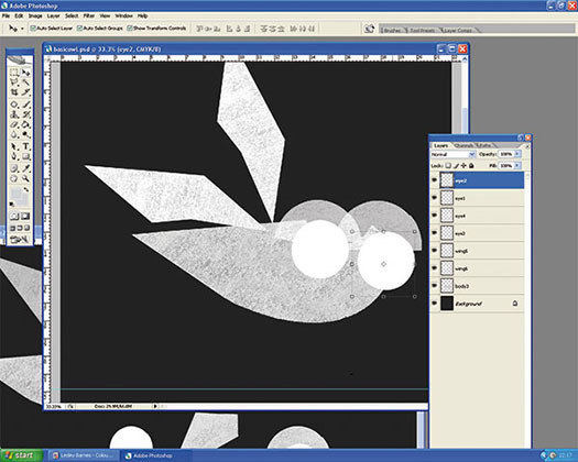 how to cut out text in photoshop