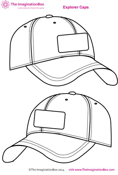 18 baseball cap templates for photoshop images