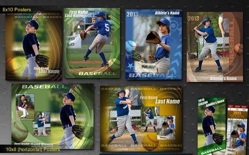 Baseball Card PSD Template