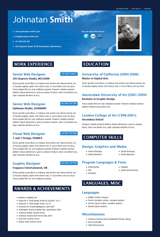 best resume format template - Best Resumes Format