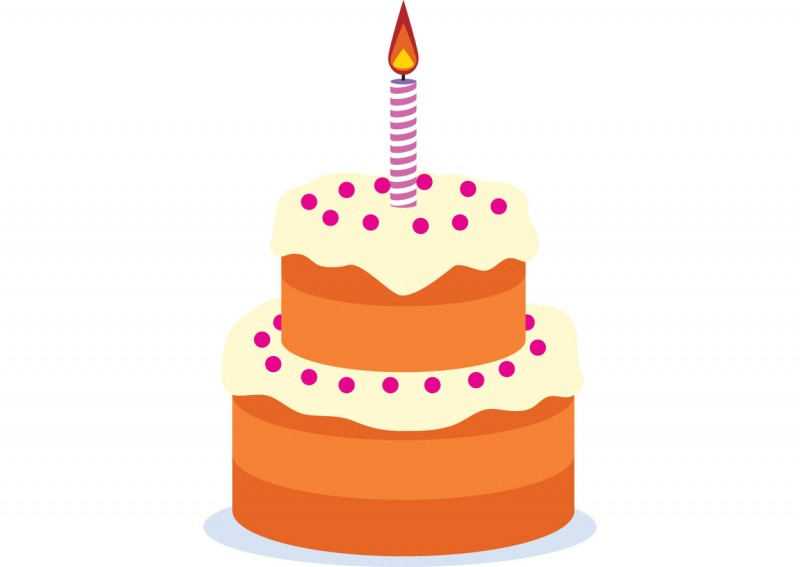 Birthday Cake Vector Download
