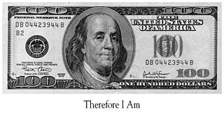 Black and White 100 Dollar Bill