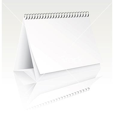 Blank Desk Calendar