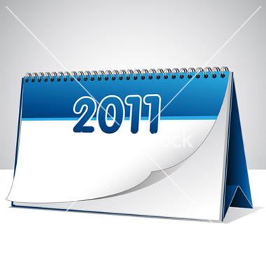 Blank Vector Calendar Templates