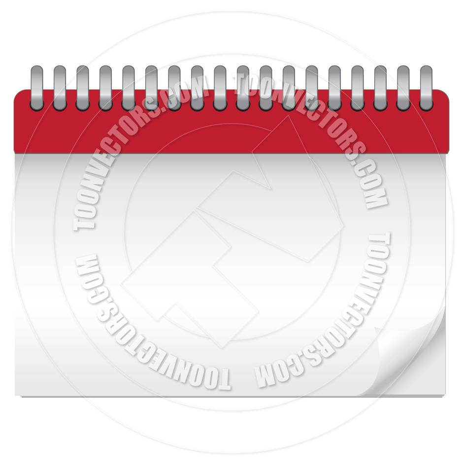 Blank Vector Calendar