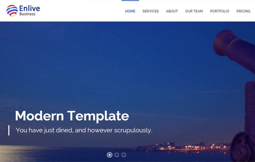 Bootstrap Website Templates Free