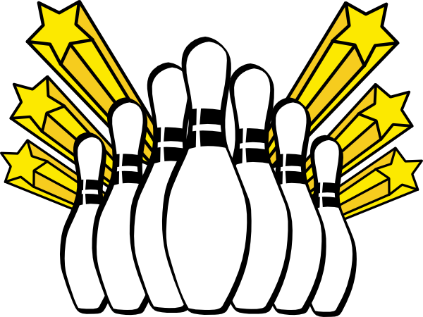 11 Free Vector Bowling Clip Art Images