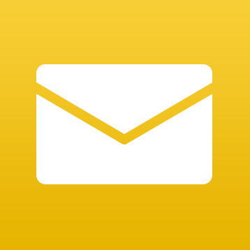 6 Gold Email Icon Images