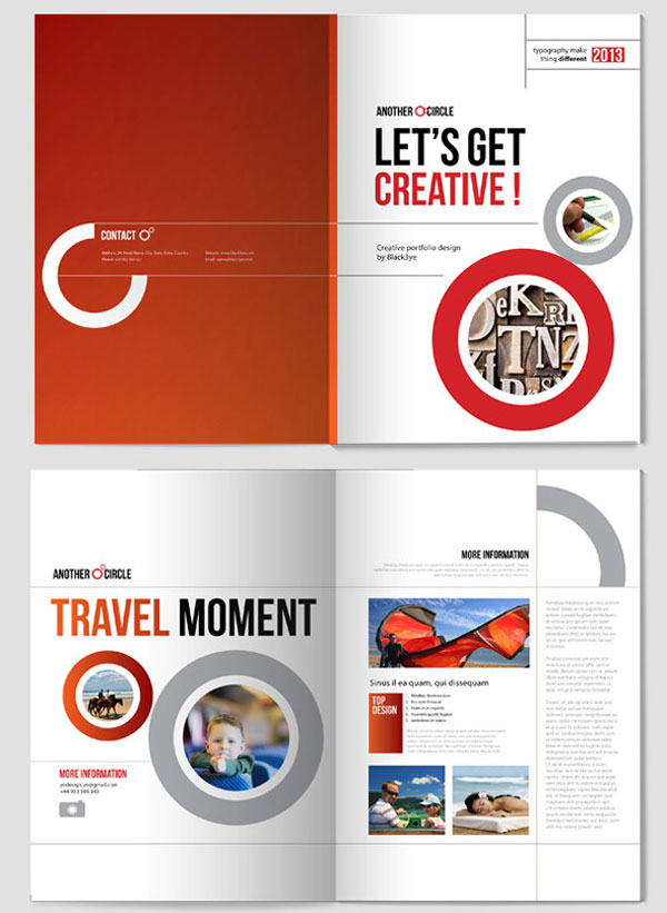 18 Leaflet Design Templates Images