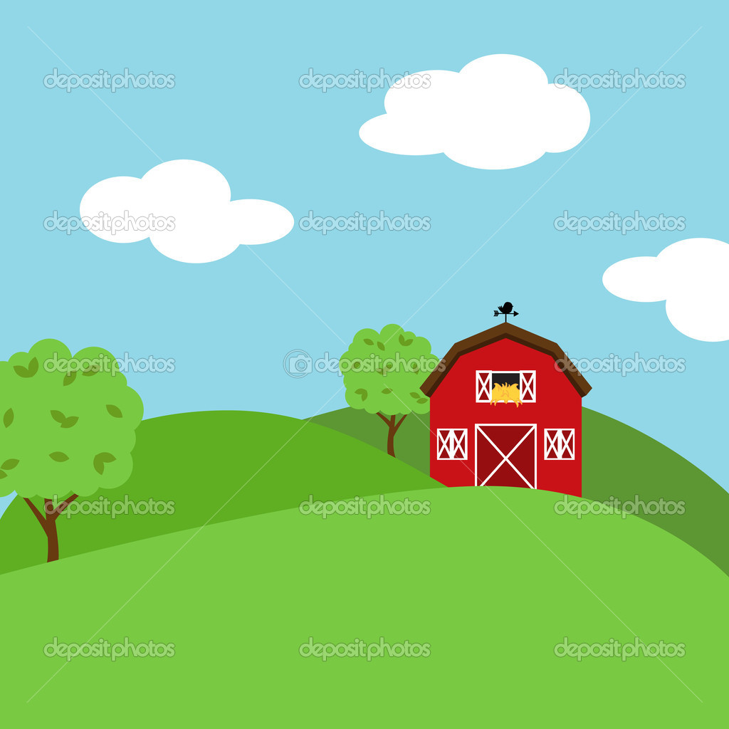 Cute Cartoon Farm