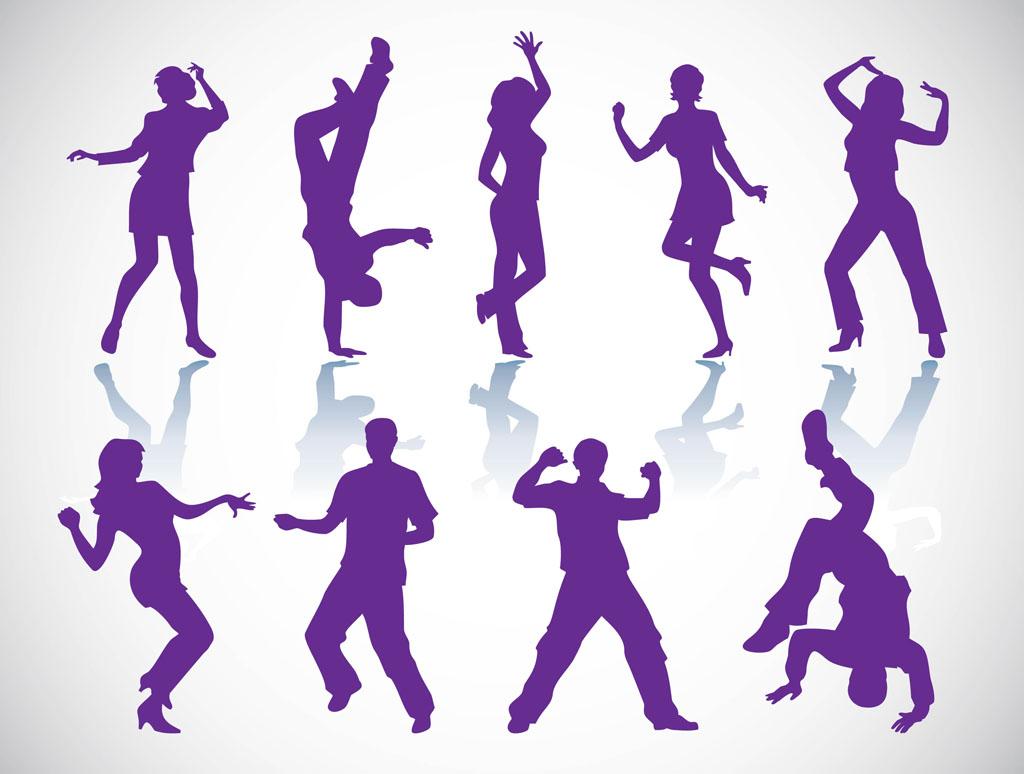 18 Dance Vector Art Images