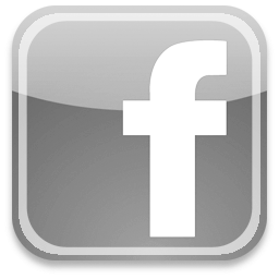 7 facebook icon grey images facebook icon black and for Houzz icon vector