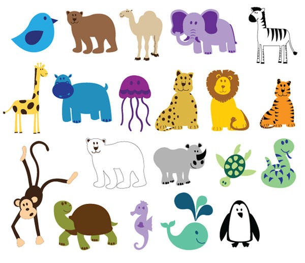16 Free Vector Animals Images