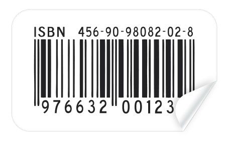 8 Barcode Sticker PSD Images