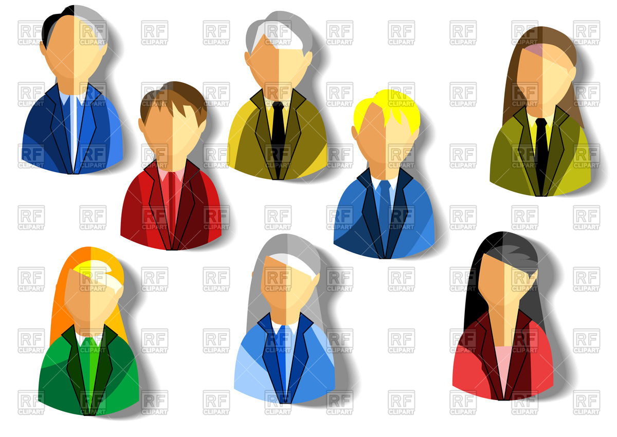 Free Business Person Icon Flat