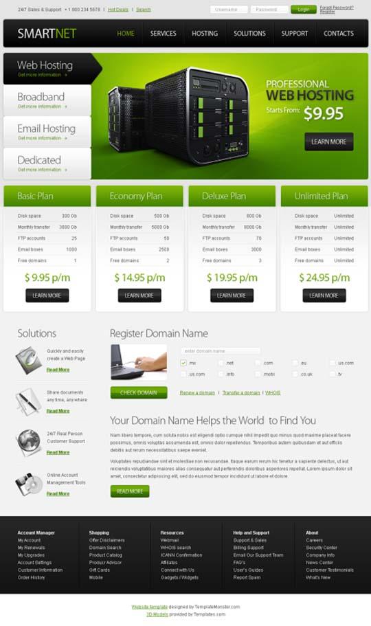 Free CSS Website Templates