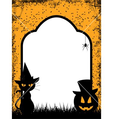 Free Halloween Borders and Frames