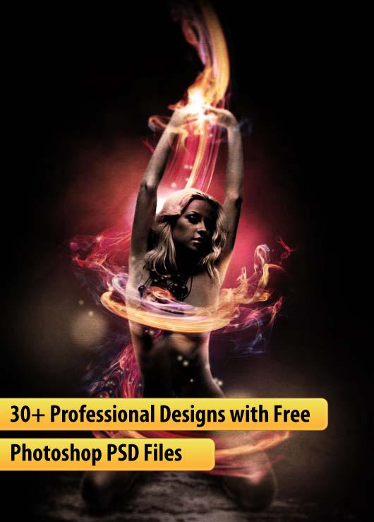 10 PSD Photoshop Design Images