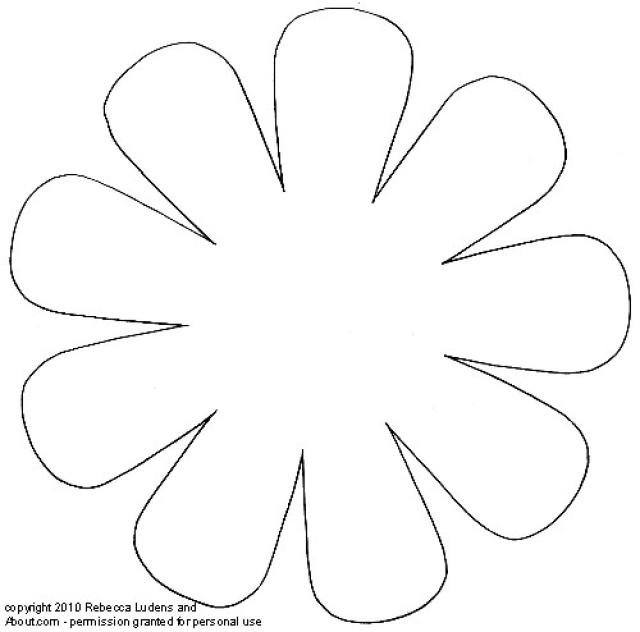 graphic regarding Printable Flowers Pattern titled 15 Printable Flower Behavior Programs Pictures - Paper Flower