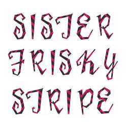 Free Sister Frisky Font