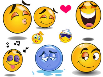 10 Free Animated Smiley Emoticons For Emails Images